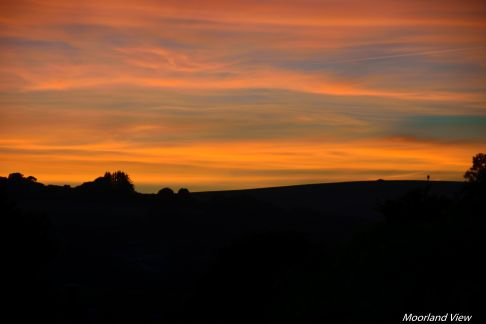 A few sunset images from home looking out towards Dartmoor.