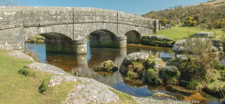 Bellever Bridge clear