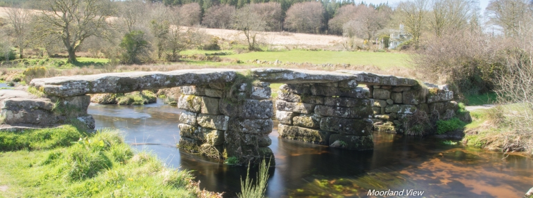 Postbridge Clapper Bridge